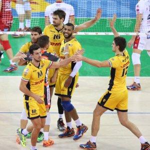Volley, coppa Italia: Modena, Lube e Perugia senza problemi. Trento ko ma passa lo stesso