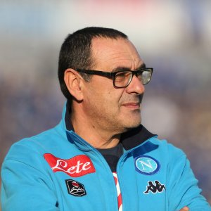 Napoli all'esame Sassuolo, Sarri: ''Vediamo se abbiamo imparato la lezione''