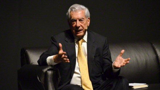 Vargas Llosa: non sono di destra, mi disegnano così