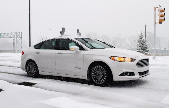 Ford, sempre più avanti: test a guida autonoma anche in condizioni estreme