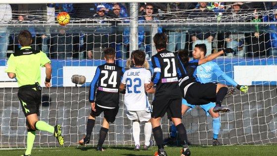 Atalanta-Inter 1-1, Handanovic para tutto nel giorno degli autogol