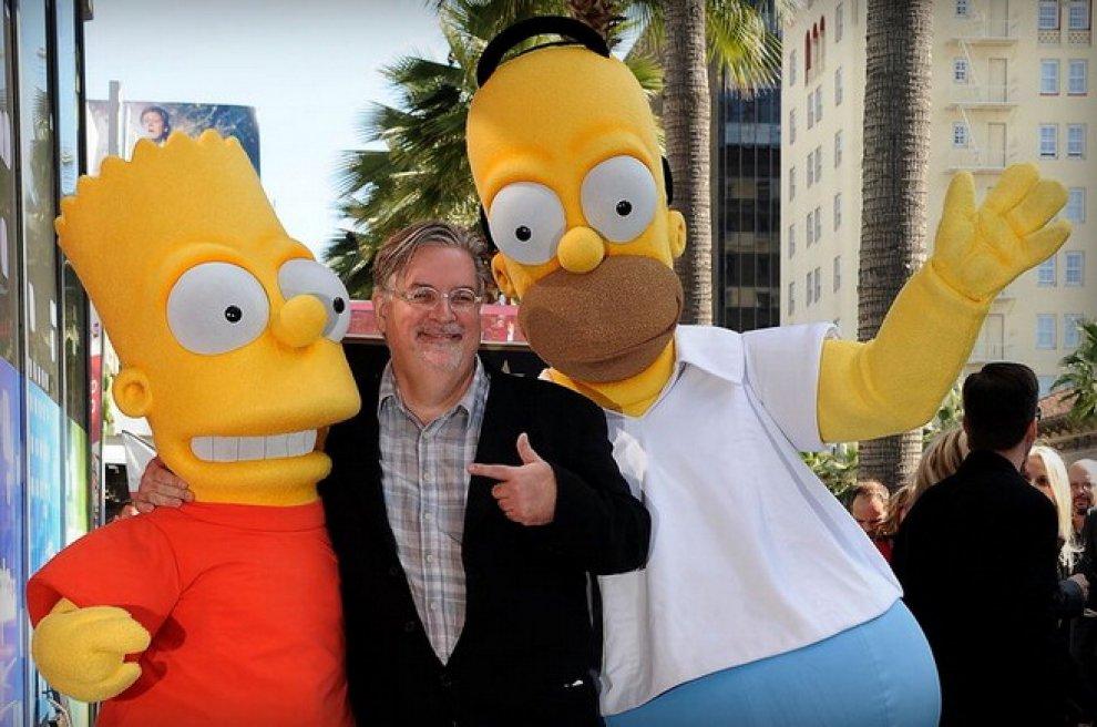 Il papà dei Simpson scriverà una nuova serie animata: Groening al lavoro per Netflix