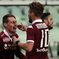Torino-Frosinone 4-2: Immobile e Belotti riportano i granata al successo