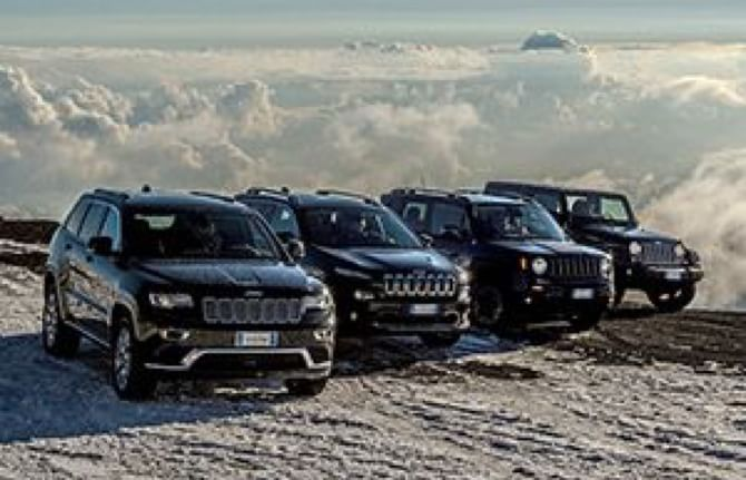 Record di vendite per Jeep