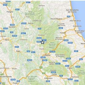Terremoto, sisma di 3.4 nell'Aquilano. A Campobasso nuova scossa di magnitudo 3.6