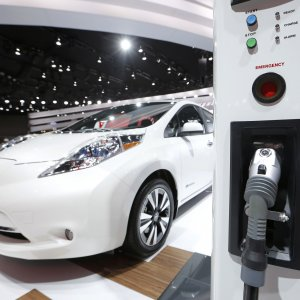 "Nissan Leaf è ""Electric Car of the Year"""