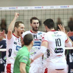 Volley, Champions: Trento, Lube e Modena danno la caccia ai primi verdetti