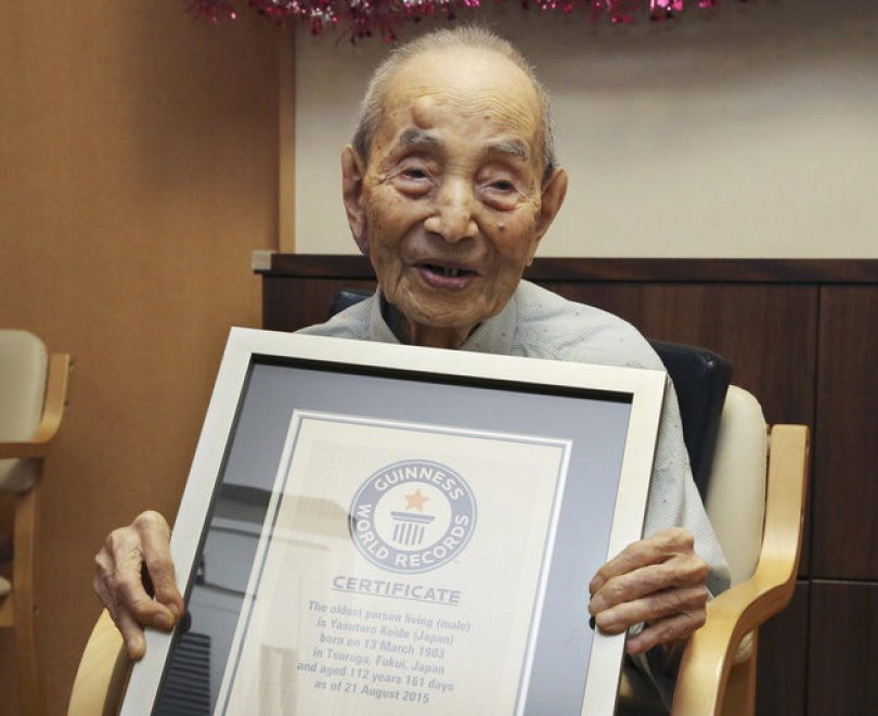 Giappone, morto a 112 anni l'uomo più vecchio al mondo