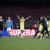 Napoli-Inter 0-2, Jovetic e Ljajic portano i nerazzurri in semifinale. Mancini: