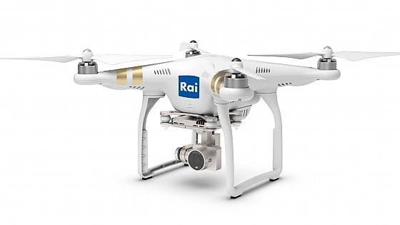 La Rai si dota di una flotta di droni e diventa operatore di volo