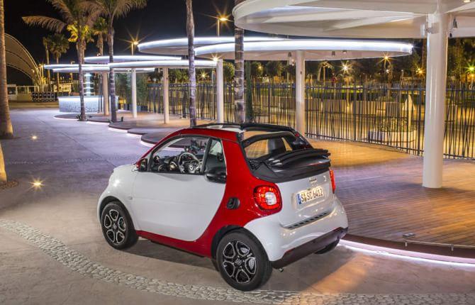 Nuova Smart Fortwo cabrio, l'estate si avvicina
