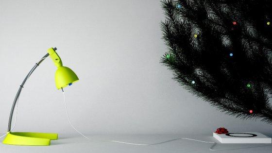 """L'artista """"illuminato"""": arriva il kit di luci a consumo zero"""