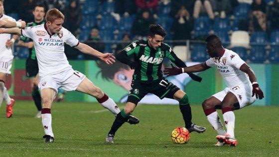 Sassuolo-Torino 1-1: poche emozioni, Acerbi risponde a Belotti