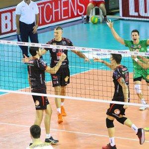 Volley, Champions: la Lube domina Belchatow ed è prima nel girone