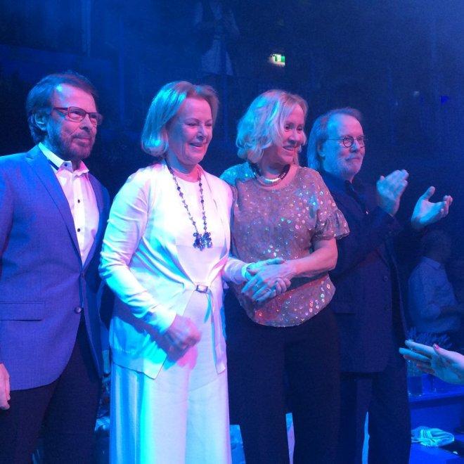 Stoccolma, mamma mia che party: gli Abba insieme dopo 8 anni