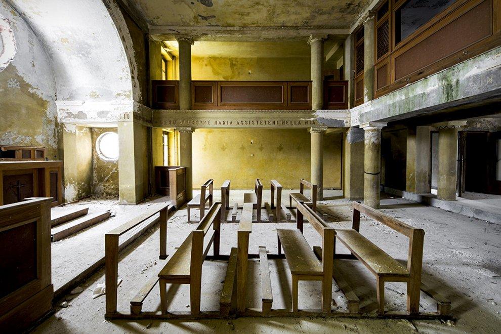 Tra sacro e profano: la magia delle chiese abbandonate