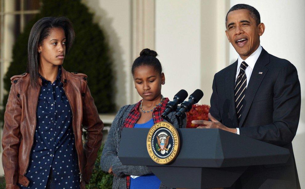 """Usa, Obama papà dal cuore tenero: """"Mi commuoverò al diploma di Malia"""""""
