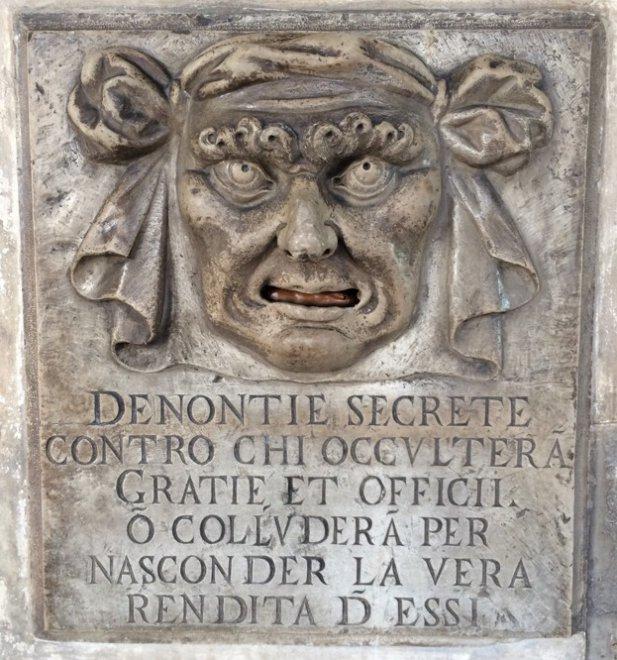 La legge 'whistleblower' sulle orme di Venezia: quando le 'bocche di leone' aiutavano i magistrati della Serenissima