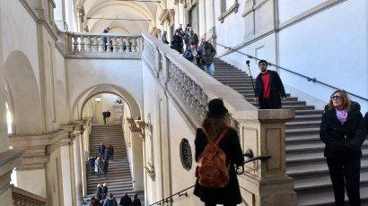 Cortile aperto, orario esteso La nuova Brera, un museo vivo