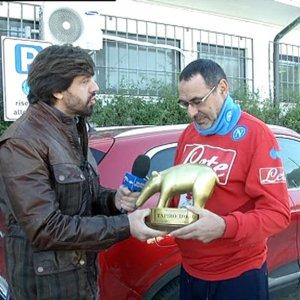 Insulti omofobi a Mancini: Sarri squalificato due turni in Coppa Italia