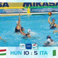 Pallanuoto, Europei: Setterosa ko, in finale va l'Ungheria