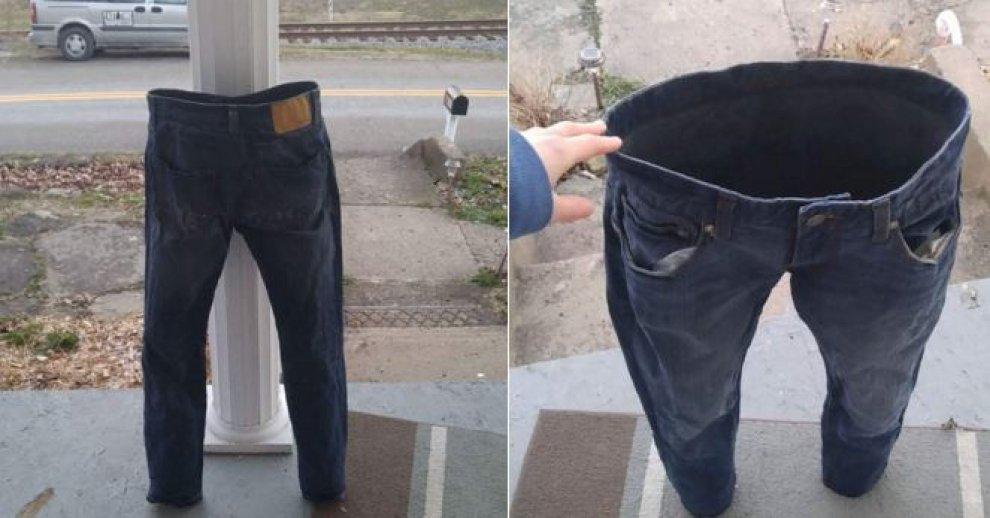 #Frozenpants: altro che pupazzi di neve, ora la moda è congelare i jeans
