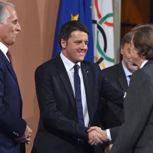 Roma 2024, Malagò: ''Una grande opportunità''. Renzi: ''Ce la giochiamo''