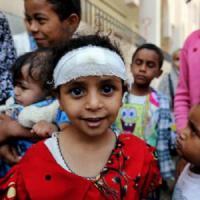 Yemen, almeno 10 bambini uccisi e tre feriti mentre tornavano da scuola