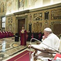 Papa: non confondere unioni civili e matrimonio. Renzi: