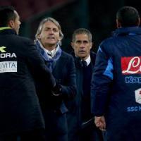 Inter, Mancini a 'Le Iene': ''Accetto le scuse di Sarri''