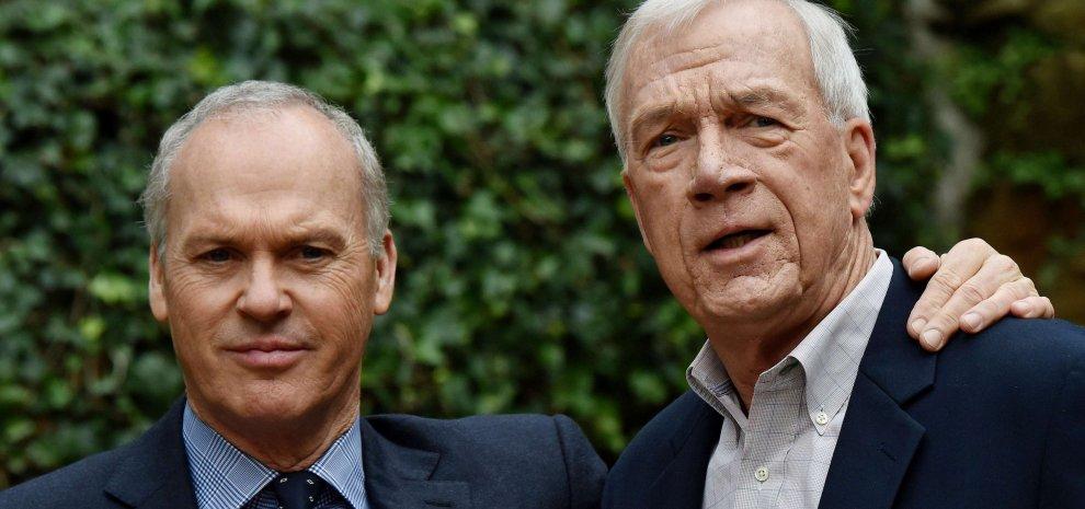 """Keaton e il premio Pulitzer: """"Speriamo che il Papa veda il nostro film sulla pedofilia"""""""