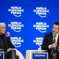 Lagarde a Davos: