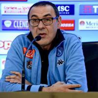 Napoli, Sarri: ''Contento che Mancini abbia accettato le scuse''