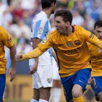 Spagna, ci pensa Messi: il Barcellona vince a Malaga