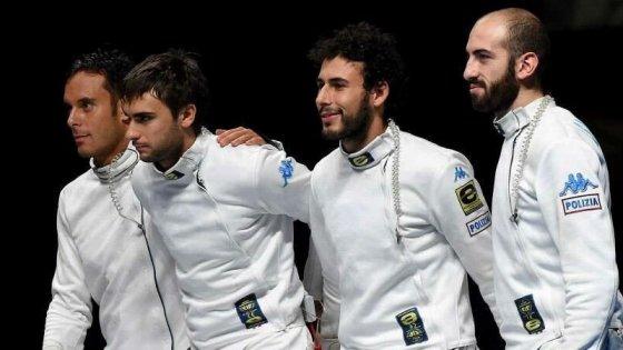 Scherma, Cdm spada: gli azzurri battono la Francia e volano a Rio