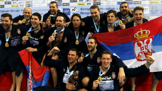 Pallanuoto, Europei: la Serbia fa tris, battuto in finale il Montenegro
