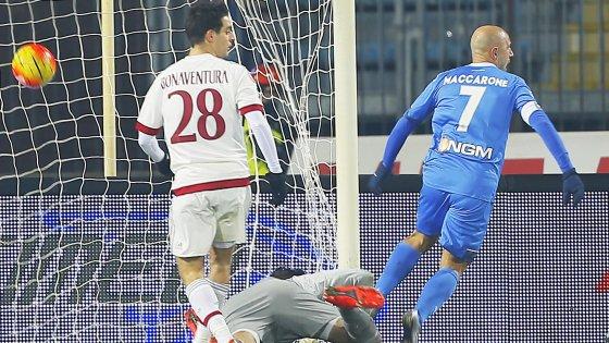Empoli-Milan 2-2: i rossoneri tornano a frenare