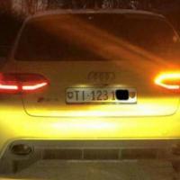 L'Audi Rs4 gialla in fuga nel triveneto: è caccia all'auto