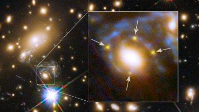 """Quella stella è esplosa di nuovo La supernova vista in """"replay"""""""