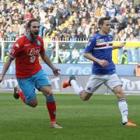 Sampdoria-Napoli 2-4: gol e spettacolo a Marassi, azzurri più saldi in vetta
