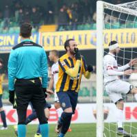 Verona-Genoa 1-1: Pazzini non basta, gialloblù ancora senza vittorie
