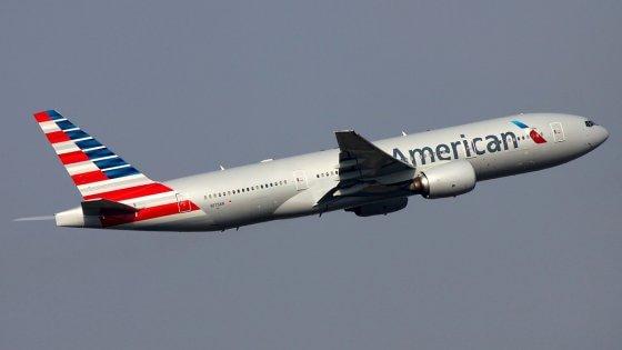 Turbolenza in volo, diversi feriti su aereo American Airlines diretto a Milano