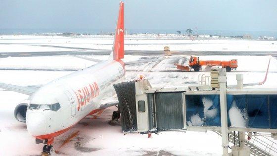 Corea del sud, 90 mila persone bloccate in un'isola per la neve