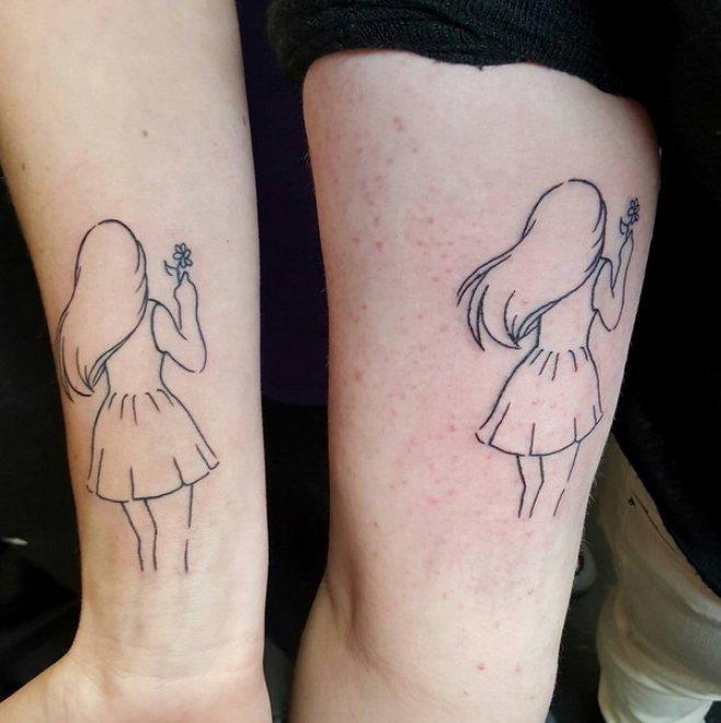 Fratelli e sorelle, il tatuaggio condiviso