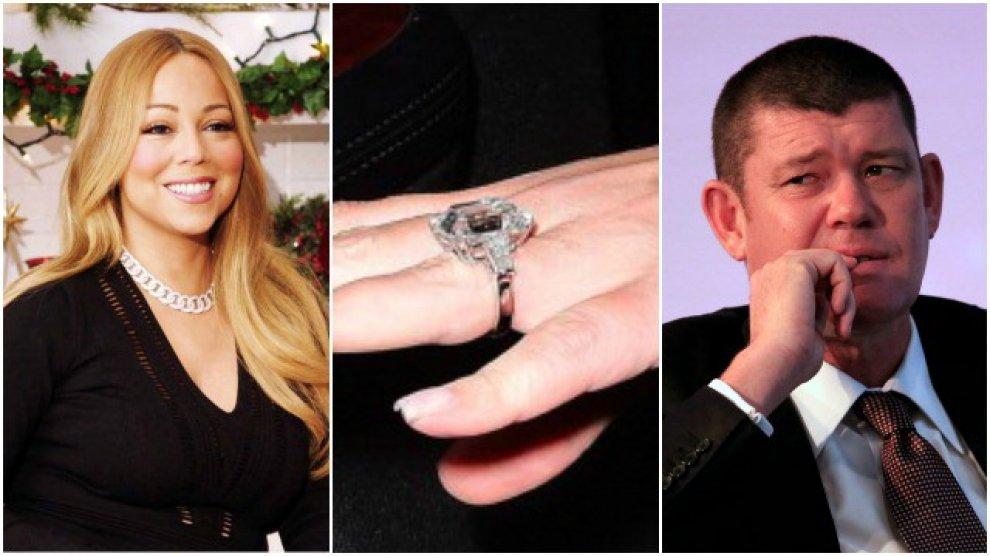 Mariah Carey verso il terzo sì: la proposta di James Packer con l'anello da 35 carati
