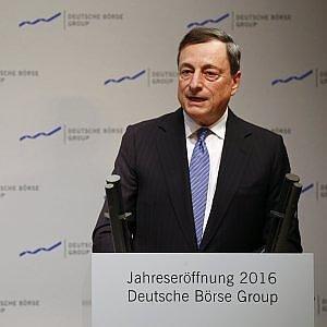 Draghi, il rischio maggiore per l'economia è non fare nulla