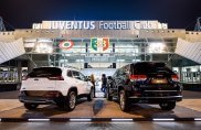 Jeep e Juventus in campo insieme per il match
