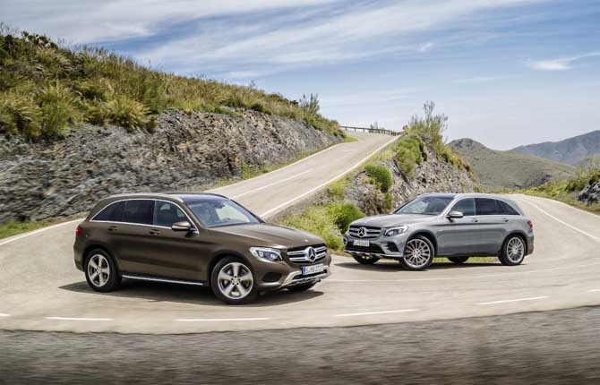 WinterPrestige Collection, largo ai Suv Mercedes-Benz