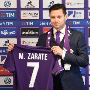 Fiorentina, Zarate: ''Qui per mettermi in gioco, non deluderò''