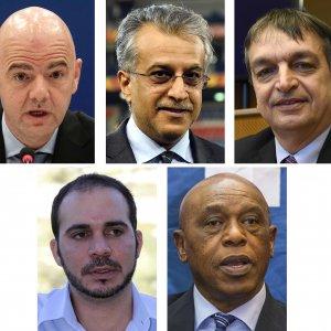 Presidenza Fifa, inizia il conto alla rovescia: ufficializzati i cinque candidati